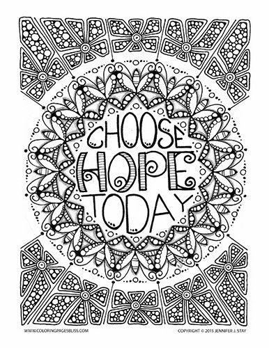 Choose Hope Today