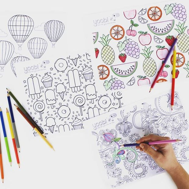 Yoobi coloring pages