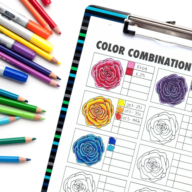 Download A Free Color Combination Chart