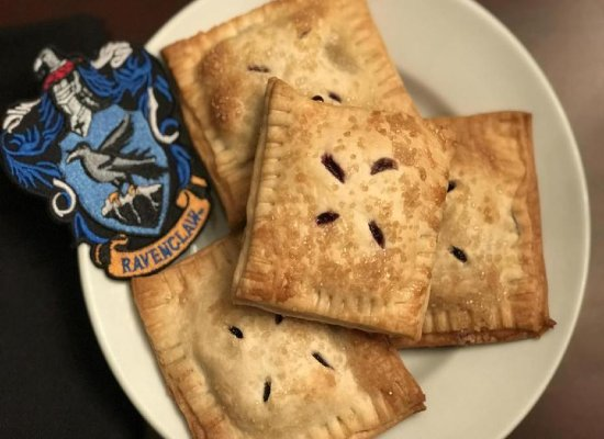 Ravenclaw Blueberry Hand Pies
