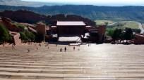 Red Rocks Amphitheater outside of Denver