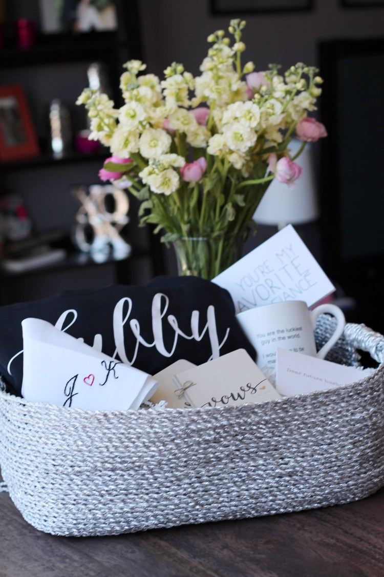 Hubby-to-be Basket