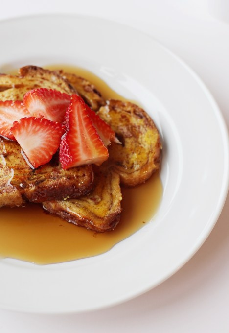 Cinnamon Raisin French Toast from Simply J and K