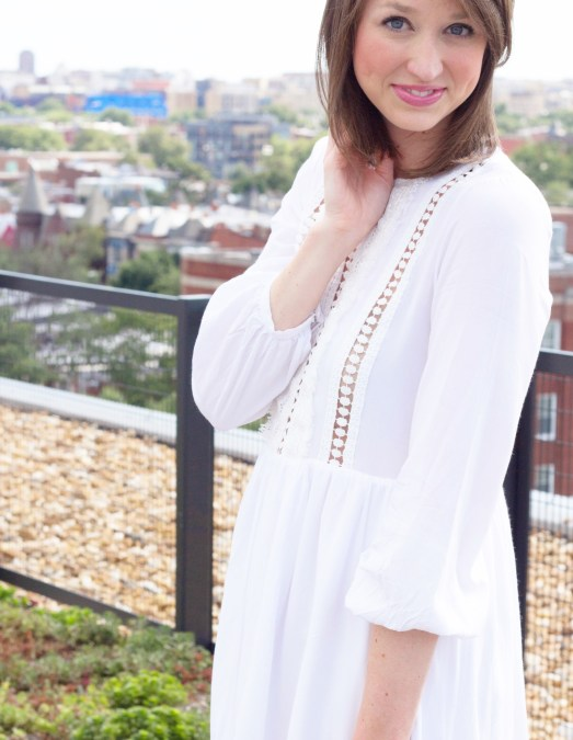 3 Reasons You Need a Little White Dress this Summer