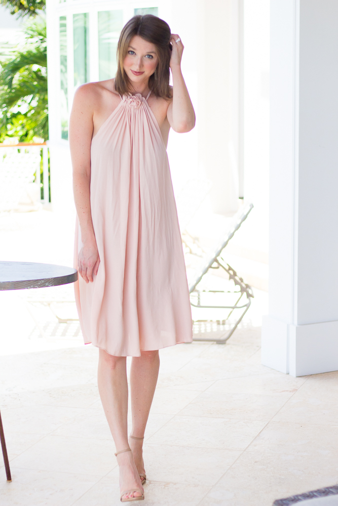 1 Year Blog Anniversary + Blush Swing Dress