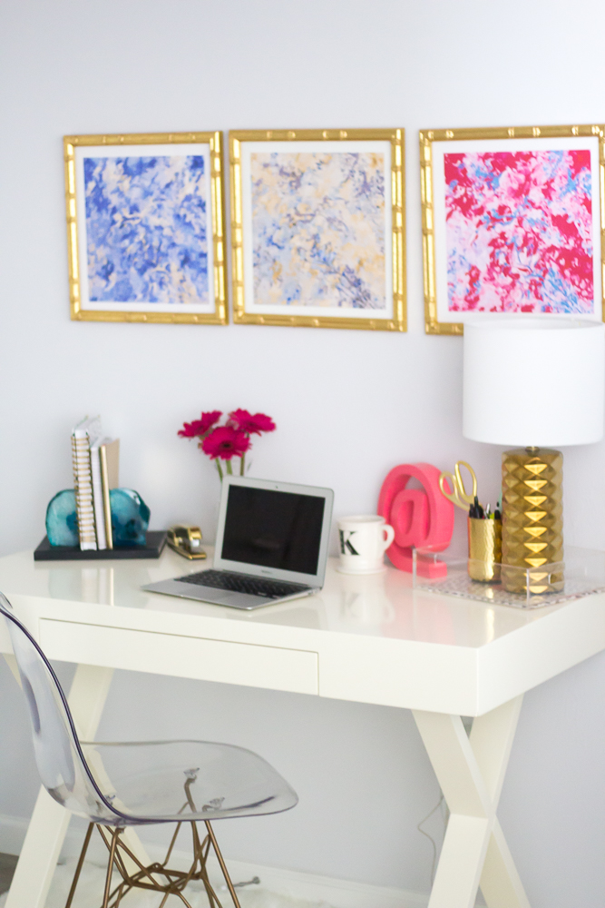 Anna Cate Home Gallery Wall & Home Office Tour