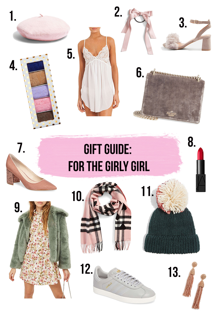 Gift Guide: For the Girly Girl