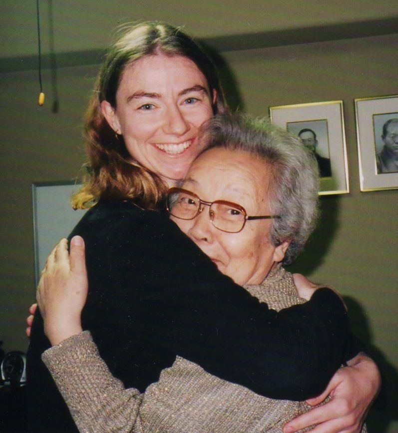 Amanda Jayne with Chiyoko Sensei