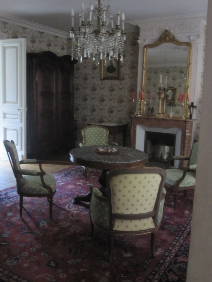 Living room in the Chateau of Md. Malivon