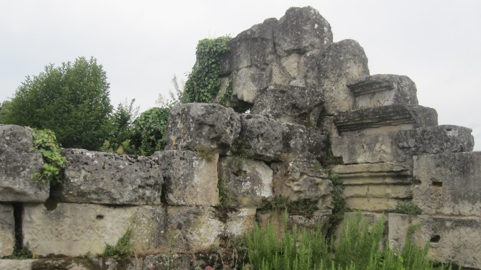 Remains of a Roman temple