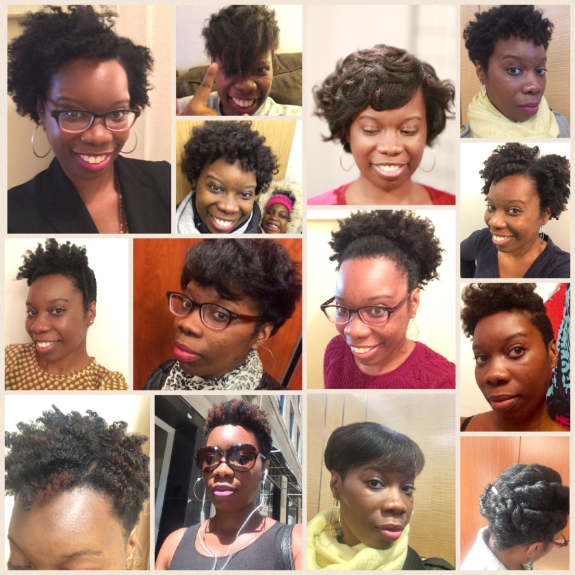 The various natural hairstyles of simplykatricia