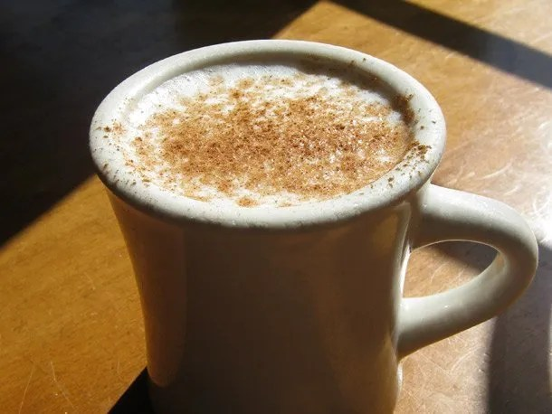 Salep at Sofra Bakery and Cafe, Boston, MA