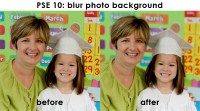 Photoshop Elements 10: Blur Photo Background