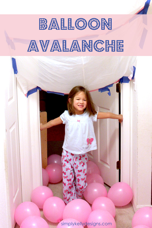 The Balloon Avalanche by Simply Kelly Designs #birthday #balloons