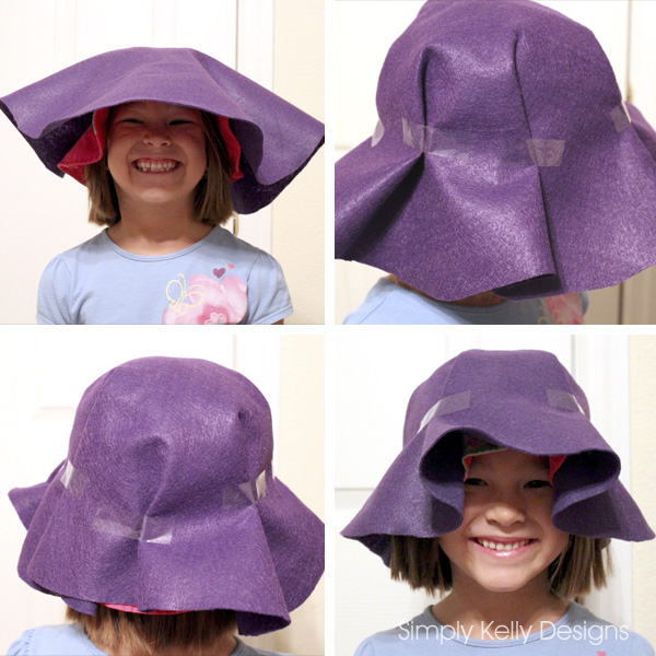 Felt Scarecrow Hat Tutorial by Simply Kelly Designs