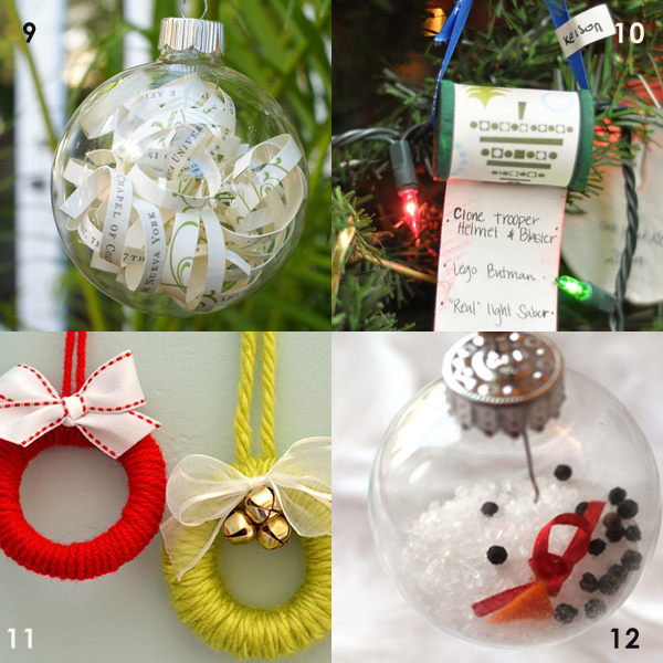 16 DIY Christmas Ornaments To Make In 30 Minutes Or Less