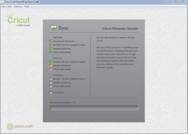 Cricut Craft Room Firmware Update Problems by Simply Kelly Designs