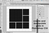 Creating and Manipulating Grids in Photoshop CS5