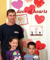Door of Hearts Valentine's Day Surprise