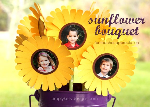 Bloom And Grow Sunflower Bouquet for Teacher Appreciation by Simply Kelly Designs