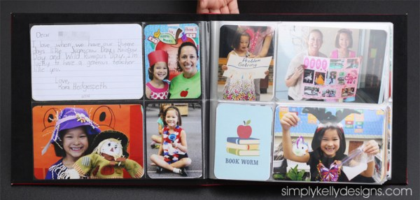Teacher Appreciation Project Life Mini Album by Simply Kelly Designs #ProjectLife #TeacherAppreciation