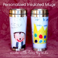 Personalized Insulated Mugs Made With Love By Kids