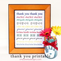 Thank You Printable by Simply Kelly Designs #printable
