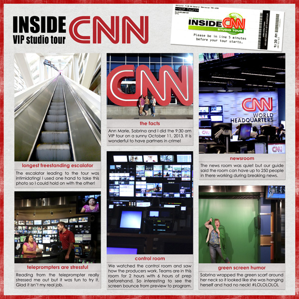 Inside CNN Studio Tour by Simply Kelly Designs