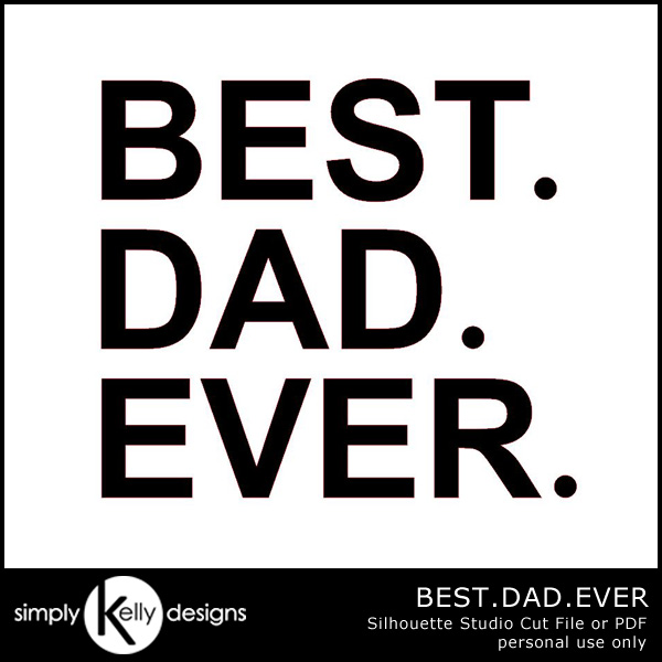 DIY BEST.DAD.EVER. Shirt with freezer paper stencil by Simply Kelly Designs #fathersday #giftsfordad #freezerpaper