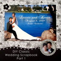 DIY Classic Wedding Scrapbook Part 1