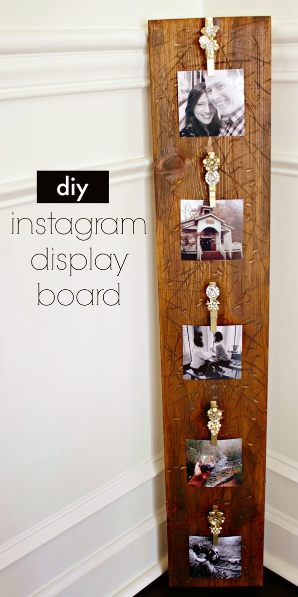 DIY Instagram Display Board by Inffarantly Creative