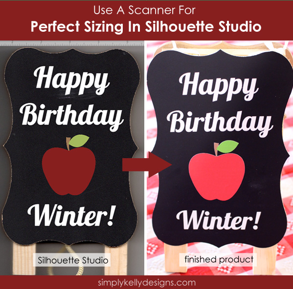 Use A Scanner for Perfect Sizing In Silhouette Studio by Simply Kelly Designs #Silhouette #tipsandtricks #scanner
