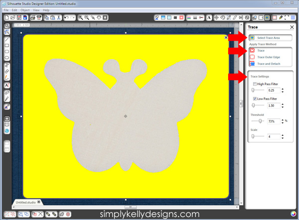 Trace For A Non Transparent Background by Simply Kelly Designs #SilhouetteRocks #SilhouetteStudio #screenshot
