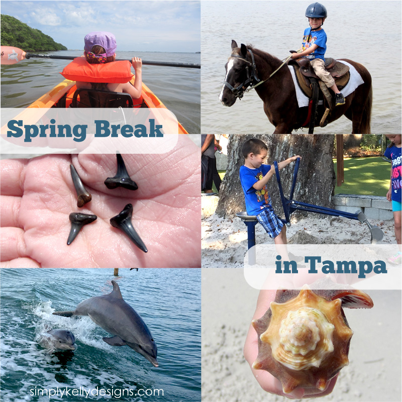 Spring Break in Tampa by Simply Kelly Designs #travel #travelingwithkids #Florida #Tampa