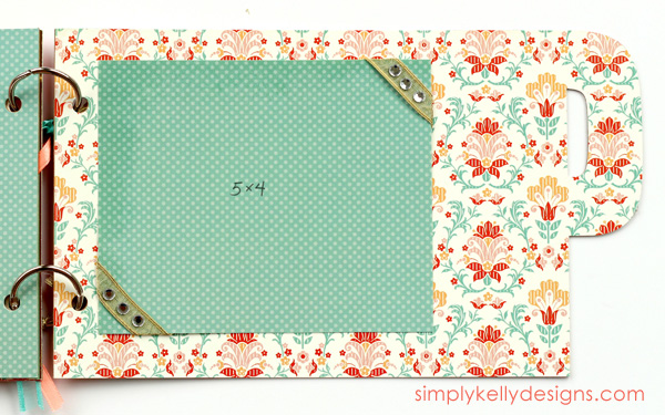 Step by step tutorial on how to make a chipboard album with The Silhouette #chipboardalbum #papercrafting #SilhouetteRocks