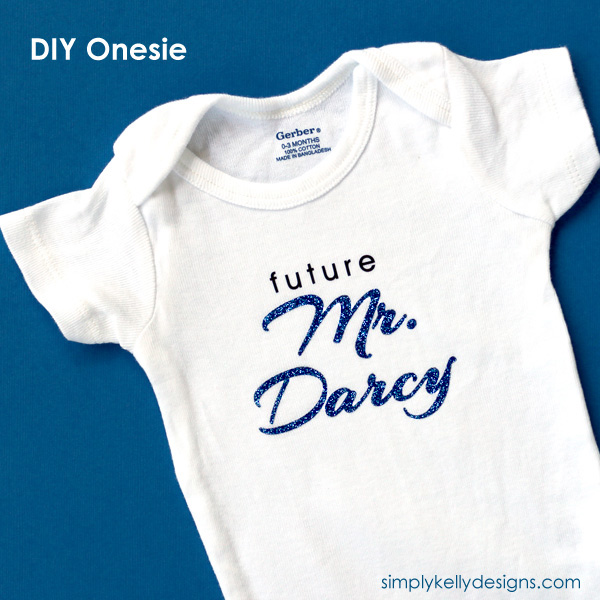 Future Mr. Darcy Onesie by Simply Kelly Designs #onesie #baby
