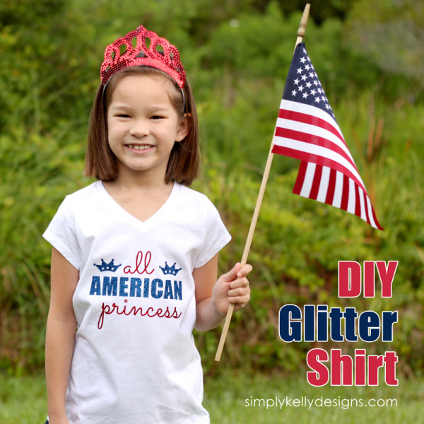 All American Princess Shirt by Simply Kelly Designs