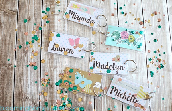 DIY Backpack Tags Using The Fuse Tool | Blooming Homestead