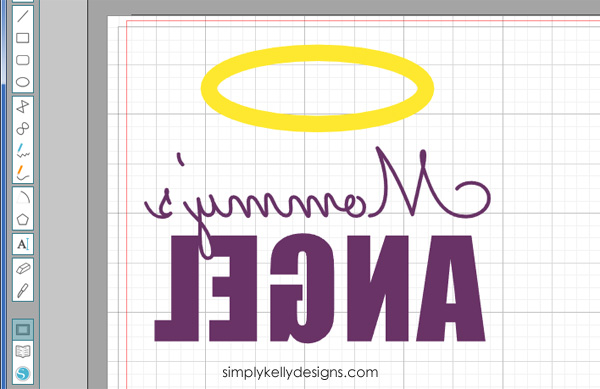 Create this Mommy's ANGEL onesie for the angel baby in your life #Silhouette