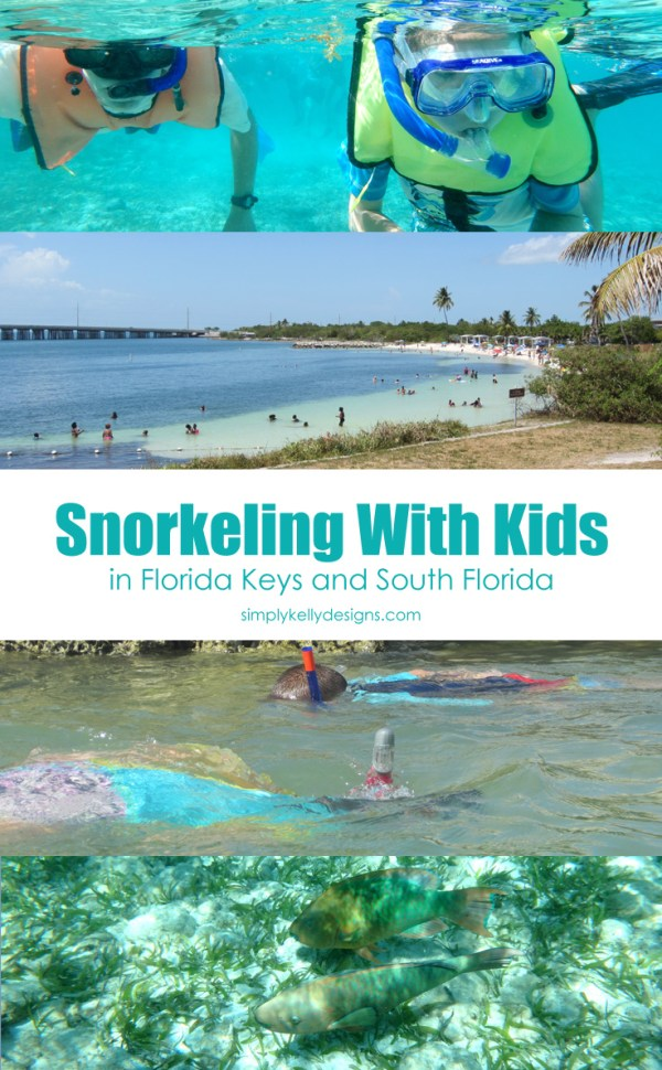 Snorkeling With Kids In The Florida Keys and South Florida - Simply Kelly Designs
