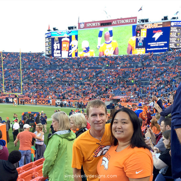 Denver Broncos game at Sports Authority Field at Mile High