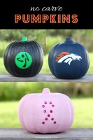 3 Easy DIY No Carve Pumpkin Ideas