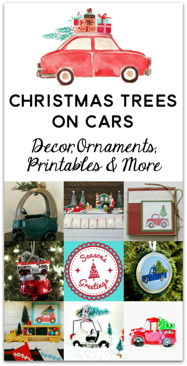 Christmas Trees on Cars Blog Hop