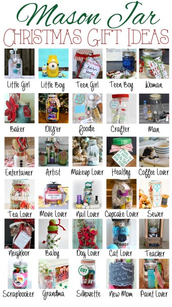 30 mason jar gift ideas perfect for the holidays!
