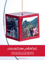 Vacation Photos Ornament