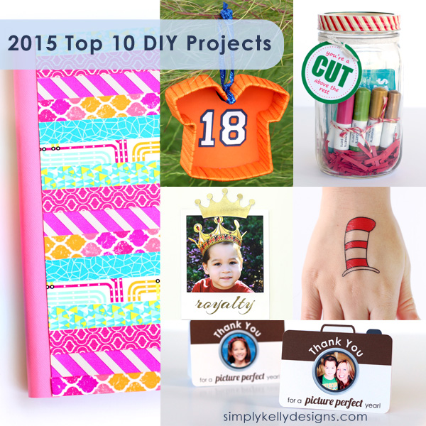 2015 Top 10 DIY Projects by Simply Kelly Designs