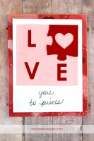 Love You To Pieces Card