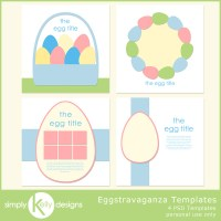 New Eggstravaganza Templates