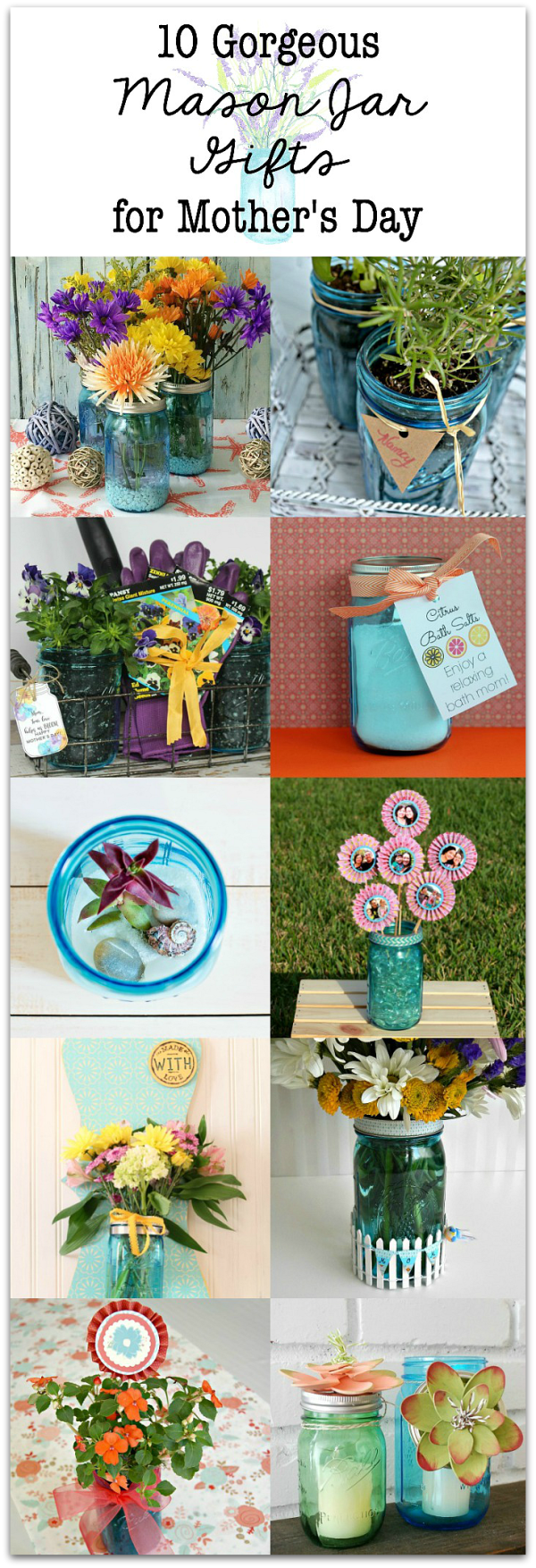10 gorgeous mason jar gift ideas for Mother's Day