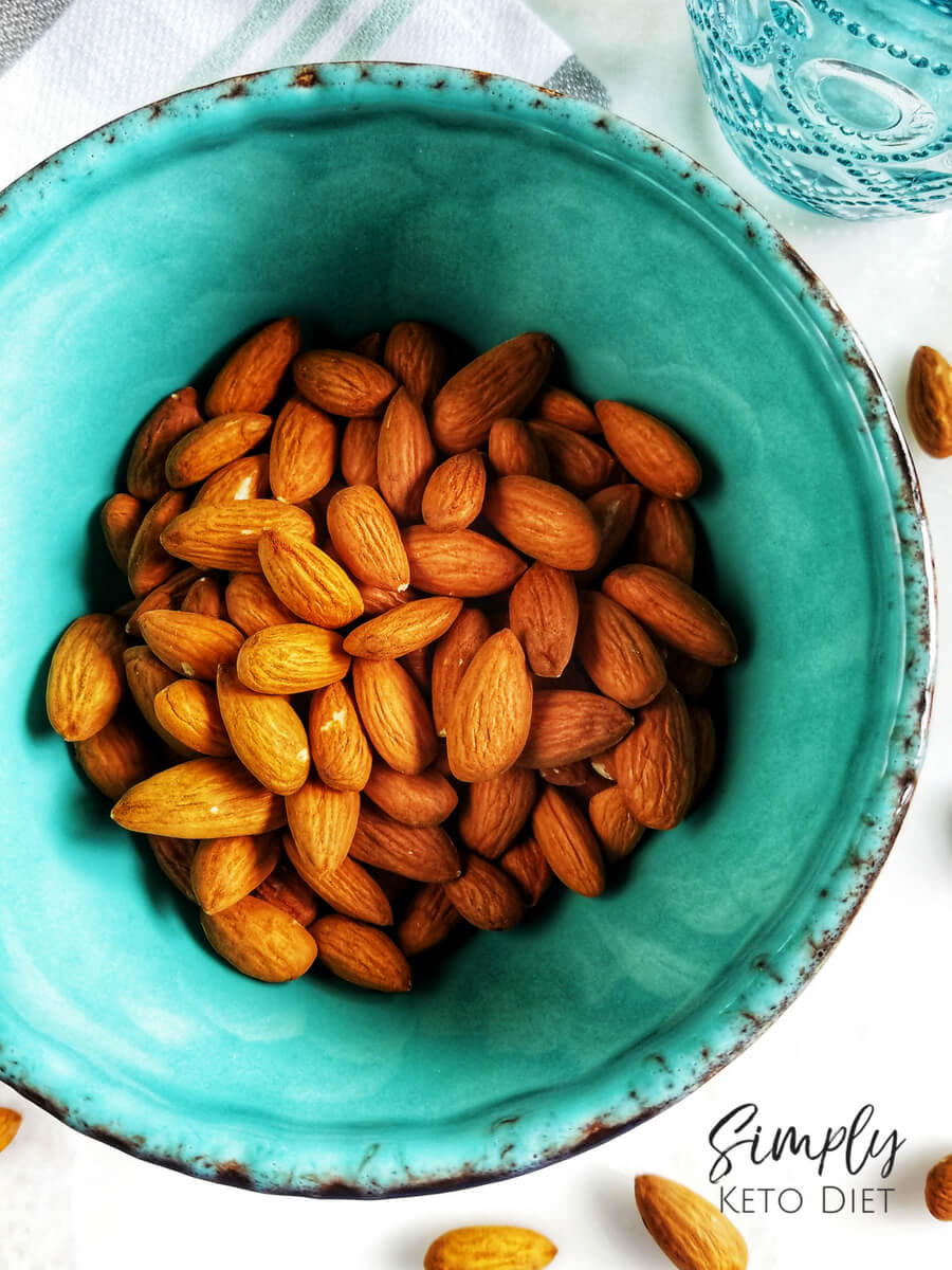 Raw Almonds make up this Almond Milk Recipe